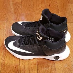 Nike Kd Trey 5 Iv Black-White Basketball Shoes